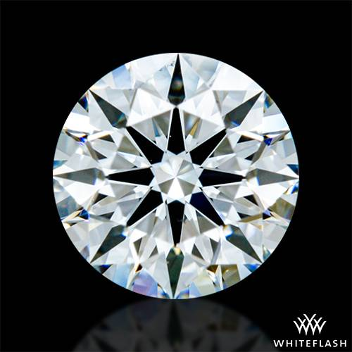 0.648 ct F VS2 A CUT ABOVE® Hearts and Arrows Super Ideal Round Cut Loose Diamond