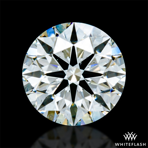 0.63 ct I SI1 A CUT ABOVE® Hearts and Arrows Super Ideal Round Cut Loose Diamond