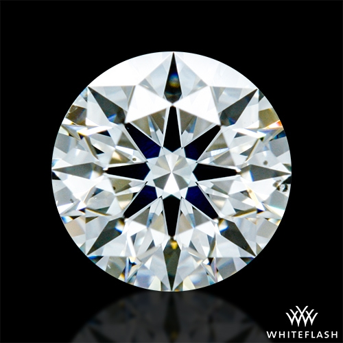 0.63 ct H SI1 A CUT ABOVE® Hearts and Arrows Super Ideal Round Cut Loose Diamond
