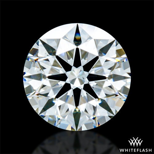 0.61 ct H VS2 A CUT ABOVE® Hearts and Arrows Super Ideal Round Cut Loose Diamond