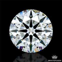 0.533 ct F VVS2 A CUT ABOVE® Hearts and Arrows Super Ideal Round Cut Loose Diamond