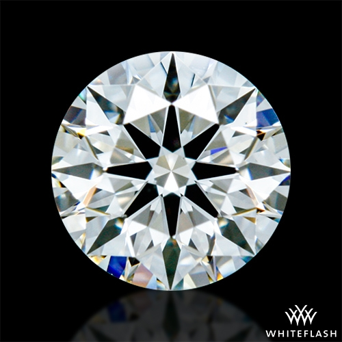 0.428 ct I VS1 A CUT ABOVE® Hearts and Arrows Super Ideal Round Cut Loose Diamond