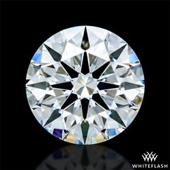0.427 ct F VVS1 A CUT ABOVE® Hearts and Arrows Super Ideal Round Cut Loose Diamond