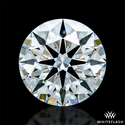 0.424 ct E VS1 A CUT ABOVE® Hearts and Arrows Super Ideal Round Cut Loose Diamond