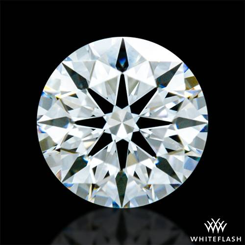 0.406 ct F VS1 A CUT ABOVE® Hearts and Arrows Super Ideal Round Cut Loose Diamond