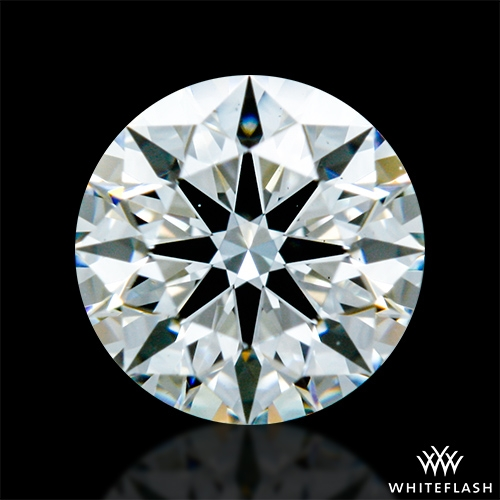0.435 ct H VS2 A CUT ABOVE® Hearts and Arrows Super Ideal Round Cut Loose Diamond