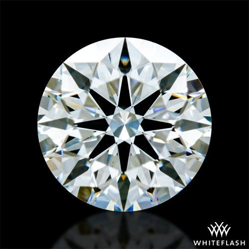 0.414 ct I VS1 A CUT ABOVE® Hearts and Arrows Super Ideal Round Cut Loose Diamond