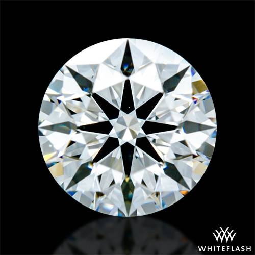 0.623 ct F VS1 A CUT ABOVE® Hearts and Arrows Super Ideal Round Cut Loose Diamond