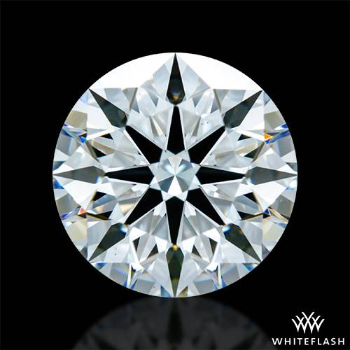3.133 ct F VS1 A CUT ABOVE® Hearts and Arrows Super Ideal Round Cut Loose Diamond