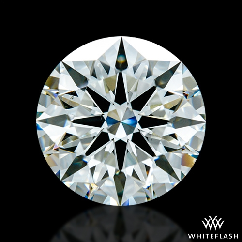 3.344 ct K VS2 A CUT ABOVE® Hearts and Arrows Super Ideal Round Cut Loose Diamond
