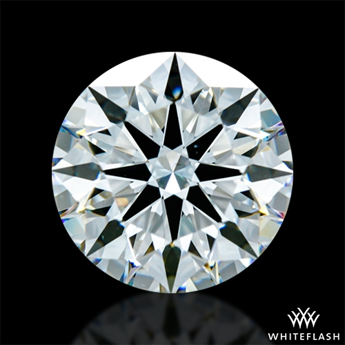 2.407 ct H VS2 A CUT ABOVE® Hearts and Arrows Super Ideal Round Cut Loose Diamond