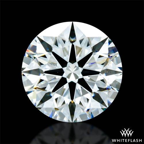 0.824 ct G VS2 A CUT ABOVE® Hearts and Arrows Super Ideal Round Cut Loose Diamond