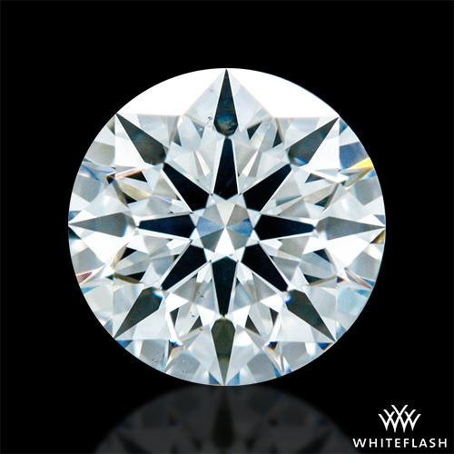 0.816 ct G VS2 A CUT ABOVE® Hearts and Arrows Super Ideal Round Cut Loose Diamond