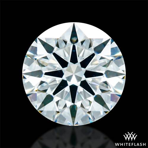 0.803 ct G VS2 A CUT ABOVE® Hearts and Arrows Super Ideal Round Cut Loose Diamond