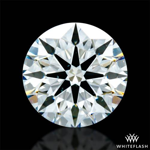 0.76 ct H VS2 A CUT ABOVE® Hearts and Arrows Super Ideal Round Cut Loose Diamond