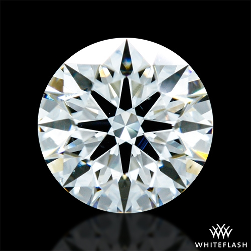 0.757 ct G VS2 A CUT ABOVE® Hearts and Arrows Super Ideal Round Cut Loose Diamond