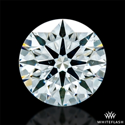 0.846 ct H SI1 A CUT ABOVE® Hearts and Arrows Super Ideal Round Cut Loose Diamond