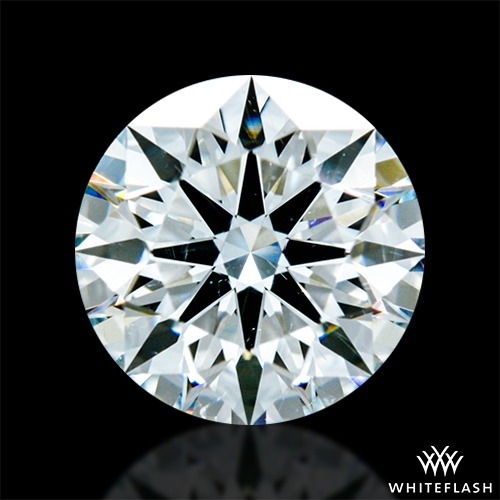 0.821 ct H SI1 A CUT ABOVE® Hearts and Arrows Super Ideal Round Cut Loose Diamond
