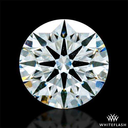 0.752 ct G SI1 A CUT ABOVE® Hearts and Arrows Super Ideal Round Cut Loose Diamond