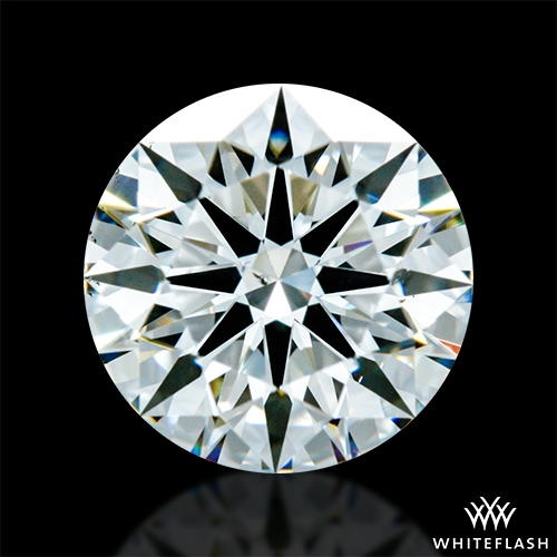 0.826 ct H VS2 A CUT ABOVE® Hearts and Arrows Super Ideal Round Cut Loose Diamond
