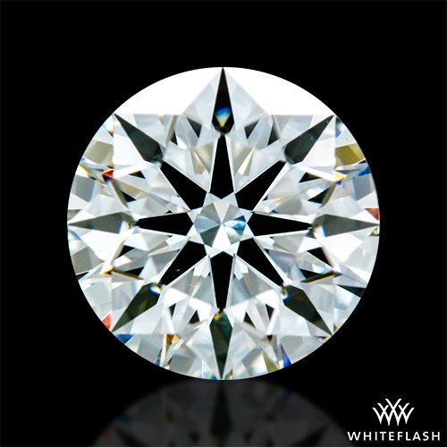 0.897 ct I VS2 A CUT ABOVE® Hearts and Arrows Super Ideal Round Cut Loose Diamond