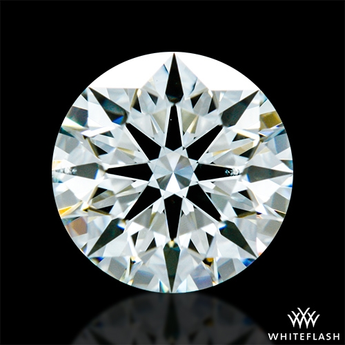 0.851 ct I VS2 A CUT ABOVE® Hearts and Arrows Super Ideal Round Cut Loose Diamond