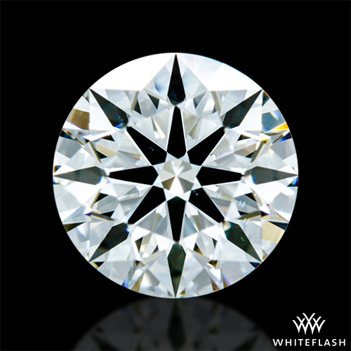 0.833 ct H VS2 A CUT ABOVE® Hearts and Arrows Super Ideal Round Cut Loose Diamond