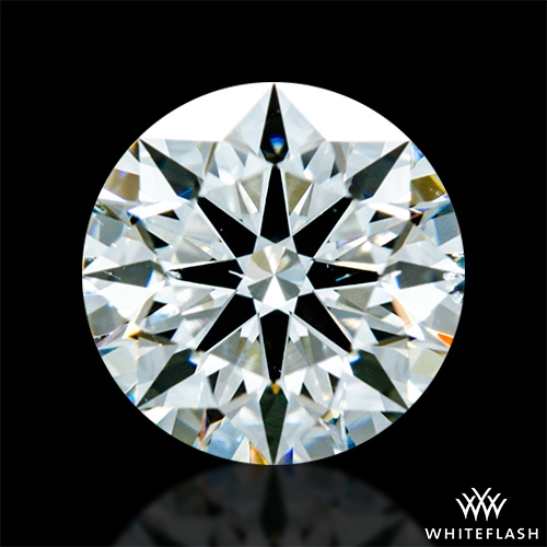 0.805 ct I SI1 A CUT ABOVE® Hearts and Arrows Super Ideal Round Cut Loose Diamond