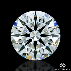 0.332 ct F VS1 A CUT ABOVE® Hearts and Arrows Super Ideal Round Cut Loose Diamond
