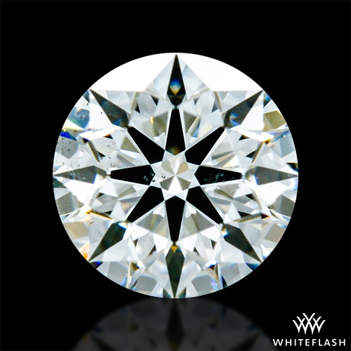 0.51 ct J SI1 A CUT ABOVE® Hearts and Arrows Super Ideal Round Cut Loose Diamond