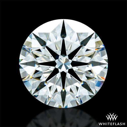 3.082 ct J VS2 A CUT ABOVE® Hearts and Arrows Super Ideal Round Cut Loose Diamond