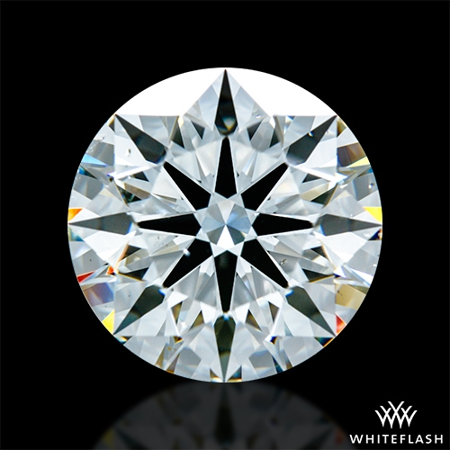 5.585 ct H VS2 A CUT ABOVE® Hearts and Arrows Super Ideal Round Cut Loose Diamond