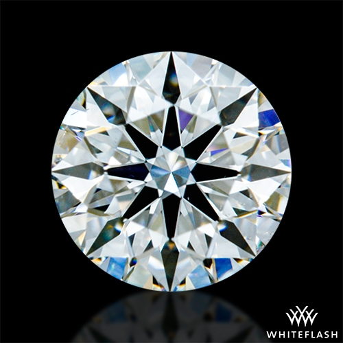 0.546 ct H SI1 A CUT ABOVE® Hearts and Arrows Super Ideal Round Cut Loose Diamond