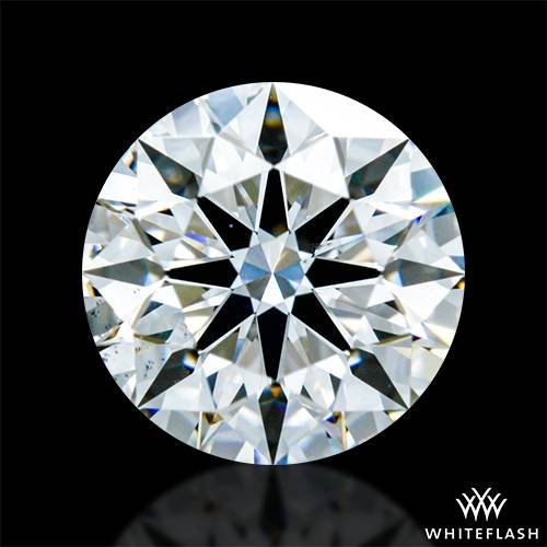 0.714 ct F VS2 A CUT ABOVE® Hearts and Arrows Super Ideal Round Cut Loose Diamond