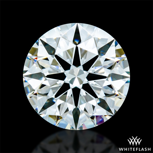0.816 ct F VVS2 A CUT ABOVE® Hearts and Arrows Super Ideal Round Cut Loose Diamond
