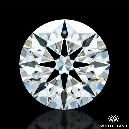0.911 ct H SI1 A CUT ABOVE® Hearts and Arrows Super Ideal Round Cut Loose Diamond
