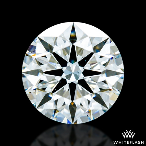 0.915 ct H VS2 A CUT ABOVE® Hearts and Arrows Super Ideal Round Cut Loose Diamond