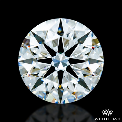 1.188 ct F VS2 A CUT ABOVE® Hearts and Arrows Super Ideal Round Cut Loose Diamond