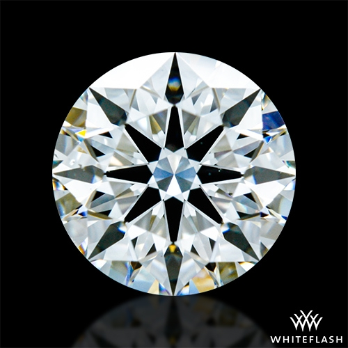 1.268 ct G VS2 A CUT ABOVE® Hearts and Arrows Super Ideal Round Cut Loose Diamond