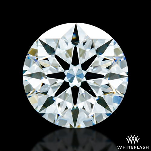 1.293 ct G VS1 A CUT ABOVE® Hearts and Arrows Super Ideal Round Cut Loose Diamond