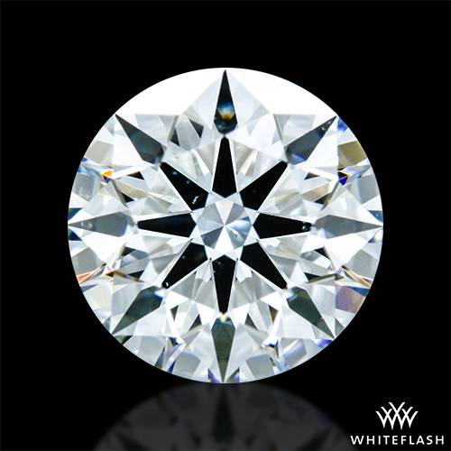 1.121 ct H VS2 A CUT ABOVE® Hearts and Arrows Super Ideal Round Cut Loose Diamond