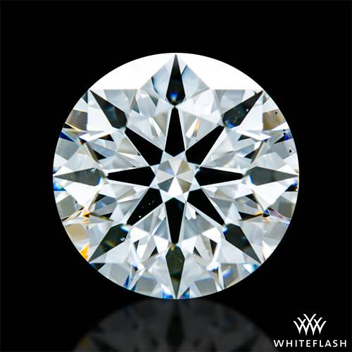 1.261 ct D VS2 A CUT ABOVE® Hearts and Arrows Super Ideal Round Cut Loose Diamond