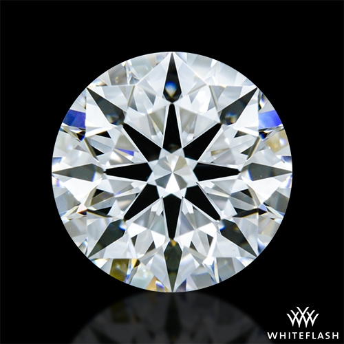 1.466 ct D VVS2 A CUT ABOVE® Hearts and Arrows Super Ideal Round Cut Loose Diamond
