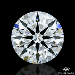 1.466 ct D VVS2 A CUT ABOVE® Hearts and Arrows Super Ideal Round Cut Loose Diamond