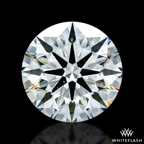 3.733 ct H VS2 A CUT ABOVE® Hearts and Arrows Super Ideal Round Cut Loose Diamond