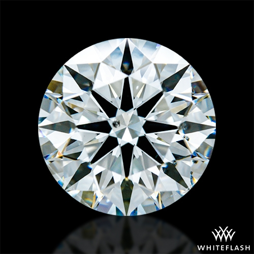2.718 ct H SI1 A CUT ABOVE® Hearts and Arrows Super Ideal Round Cut Loose Diamond