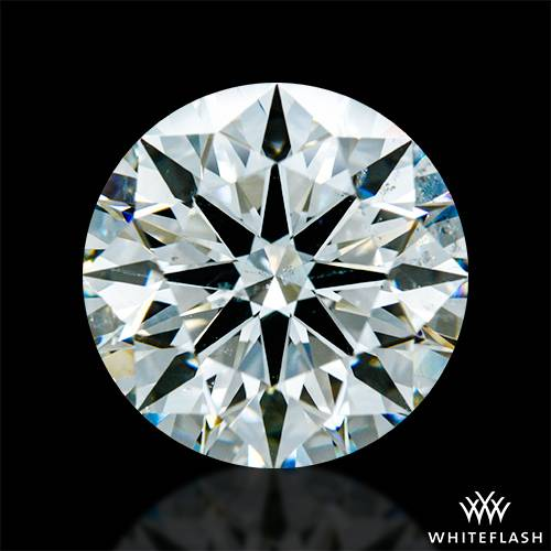 2.724 ct I SI1 A CUT ABOVE® Hearts and Arrows Super Ideal Round Cut Loose Diamond