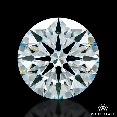 2.617 ct I SI1 A CUT ABOVE® Hearts and Arrows Super Ideal Round Cut Loose Diamond