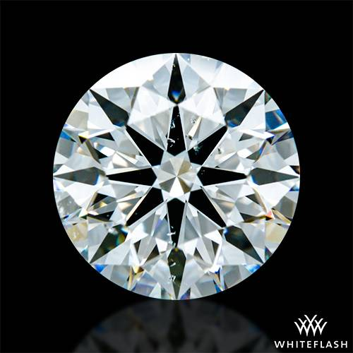 1.916 ct G SI1 A CUT ABOVE® Hearts and Arrows Super Ideal Round Cut Loose Diamond