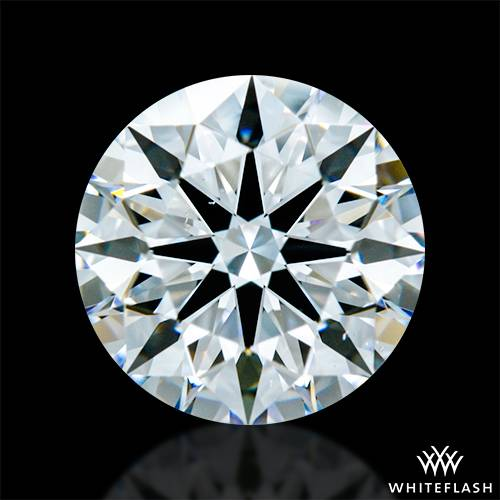 1.417 ct E VS2 A CUT ABOVE® Hearts and Arrows Super Ideal Round Cut Loose Diamond